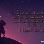 Happy New Year 2021 Wishes For Lover Pinterest