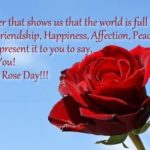 Happy Rose Day Quotes For Girlfriend Pinterest