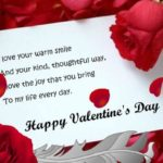 Happy Valentine Day Greeting Message Facebook