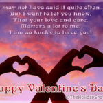 Happy Valentine Day Romantic Sms Facebook