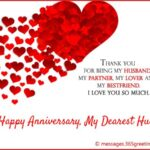Happy Wedding Anniversary Wishes To Husband Facebook