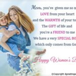 Happy Women's Day For Mom Facebook