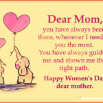 Happy Women's Day Messages For Mom Twitter