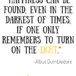 Harry Potter Happiness Quote Facebook