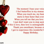 Heart Touching Birthday Wishes For Boyfriend Tumblr