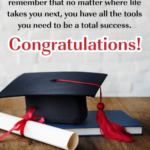 High School Graduation Greetings Message