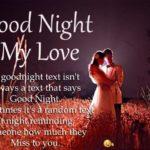 Hot Romantic Good Night Sms