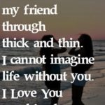 I Love You Friend Quotes Facebook