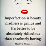 Imperfection Is Beauty Quote Twitter