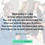 Inspirational Quotes About Wednesday Facebook