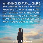 Inspirational Quotes About Winning A Game Facebook