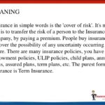 Insurance Meaning In Simple Words