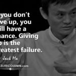 Jack Ma Inspiring Words Twitter