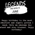 June Birthday Quotes Facebook