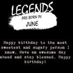 June Birthday Quotes Facebook