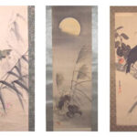 KAKEJIKU JAPANESE HANGING SCROLL
