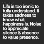 Life Is Ironic It Takes Sadness Quote Twitter