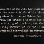 Lion And Lioness Quotes Images Tumblr