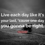 Live Each Day Quotes Facebook