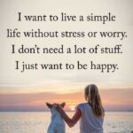 Living A Simple Life Quotes Facebook