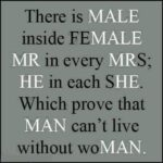 Male Quotes About Females