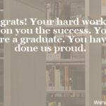 Middle School Graduation Card Messages Pinterest