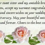 Marriage Anniversary Wishes For Sister Twitter