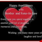 Marriage Anniversary Wishes To Brother And Sister In Law Twitter