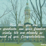 Message For Parents For Graduation Twitter