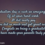 Message For Parents Graduation Tumblr