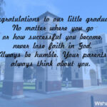 Middle School Graduation Messages From Parents Facebook