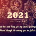 New Year's Eve Wishes 2021 Pinterest