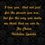 Nicholas Sparks Quotes The Choice