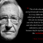 Noam Chomsky Quotes On Education Twitter