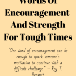 One Word For Encouragement