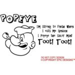 Popeye Sayings