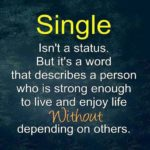 Positive Quotes For Singles Pinterest
