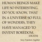 Pratchett Death Quotes Pinterest