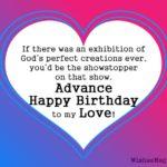 Pre Birthday Wishes Facebook