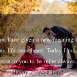 Propose Day Proposal