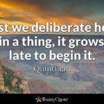 Quintilian Quotes Facebook