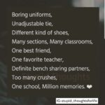 Quotation On School Life Tumblr
