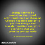 Quote Energy Positive Facebook