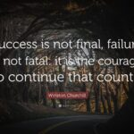 Quote Success Is Not Final Facebook