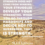 Quotes About Hardship And Success Pinterest