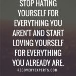 Quotes About Hating Yourself Pinterest