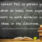 Quotes About Parents And Teachers Working Together Twitter