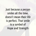 Quotes About Smile And Strength Twitter