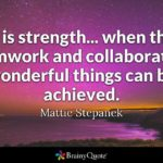 Quotes About Unity And Success Twitter