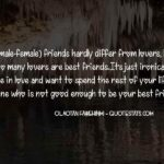Quotes On Female Best Friend Pinterest